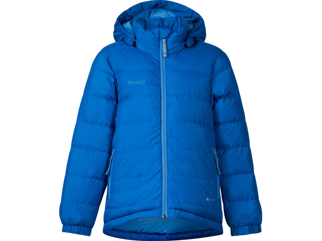 22eaf99b Bergans Dyna Down Jacket Kids athens blue/light winter sky | Gode ...